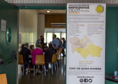 Primers pressupostos participatius d'Olot