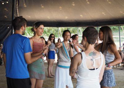 Sigues el canvi que vols veure al món, taller a Clownia Festival