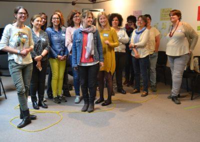 Facilitació d'una jornada d'indagació co-creativa per a DinamiG