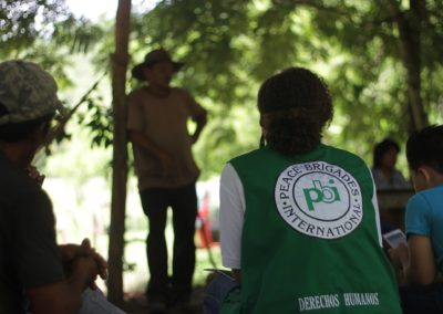 Avaluació participativa a Peace Brigades International Honduras (PBI)